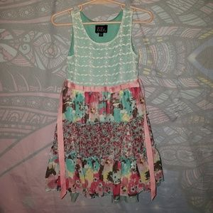 Multi color and pattern Dress